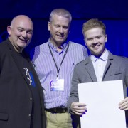 Liam wins the prestigious Generations in Jazz Vocal Scholarship